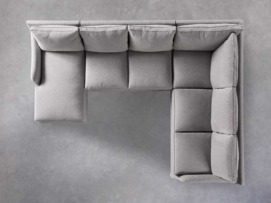 "Paxton Upholstered 138"" Right Arm Three Piece Sectional, slide 5 of 6"