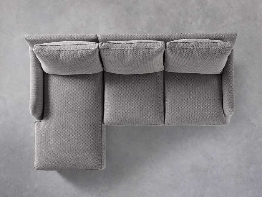 """Paxton Upholstered 99"""" Left Arm Two Piece Chaise Sectional, slide 5 of 6"""