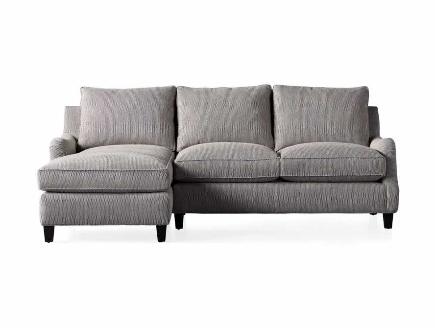 """Paxton Upholstered 99"""" Left Arm Two Piece Chaise Sectional, slide 6 of 6"""