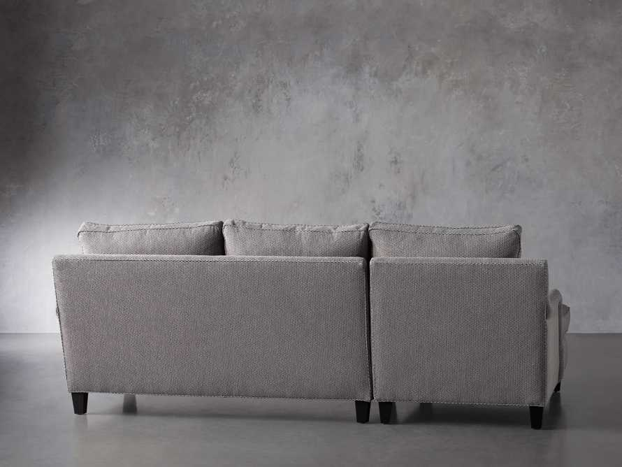 """Paxton Upholstered 99"""" Left Arm Two Piece Chaise Sectional, slide 4 of 6"""