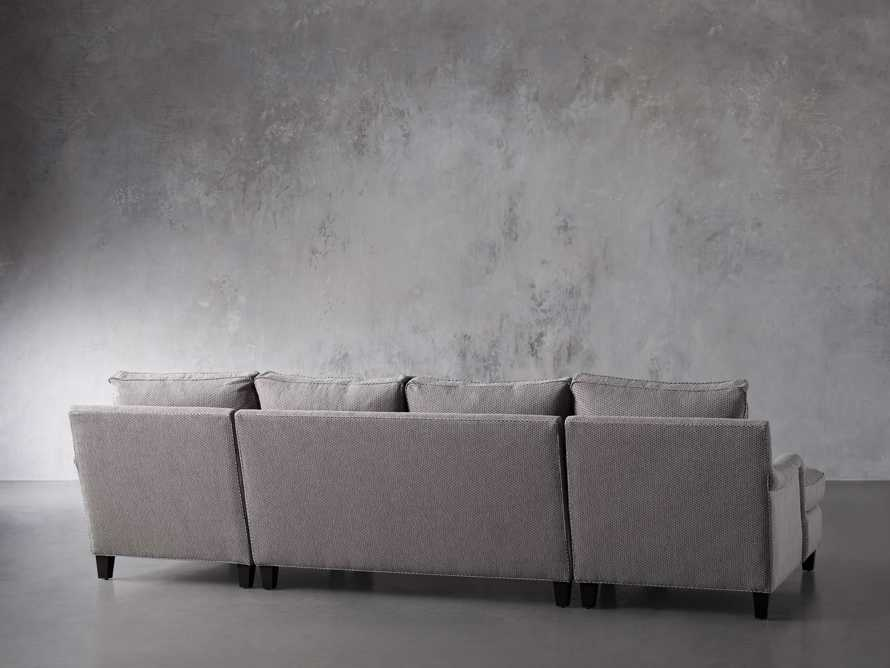 """Paxton Upholstered 130"""" Double Chaise Sectional, slide 4 of 6"""