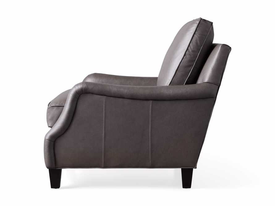 "Paxton Leather 35"" Chair, slide 7 of 7"