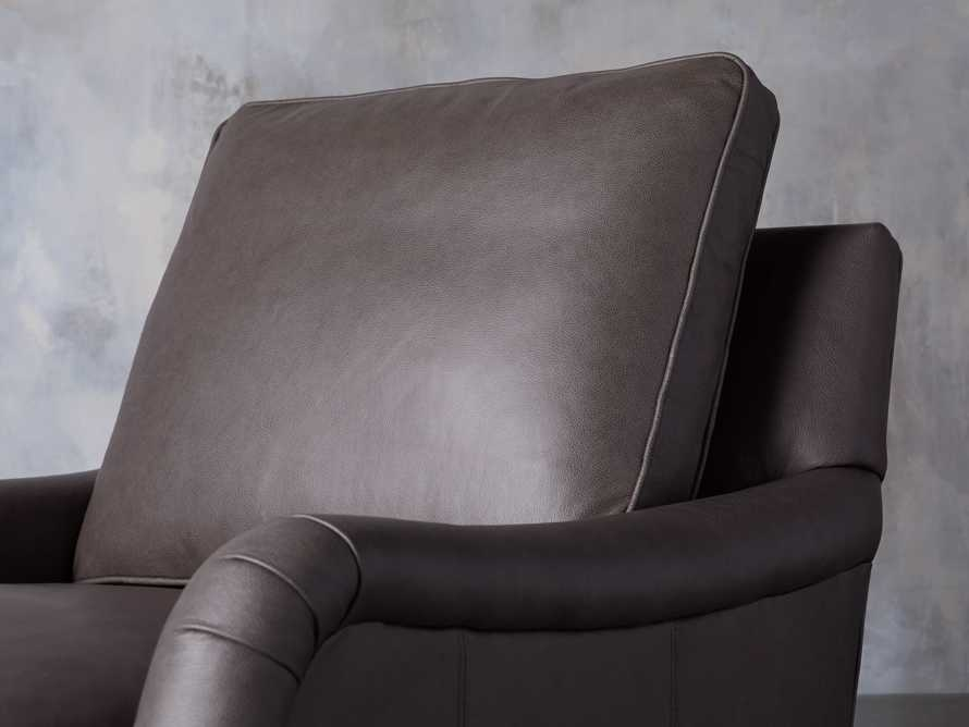 "Paxton Leather 35"" Swivel Chair, slide 6 of 8"