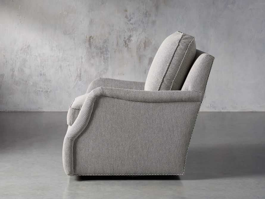 "Paxton Petite Upholstered 32"" Swivel Chair, slide 4 of 8"