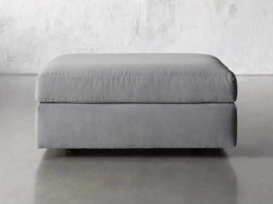 "Miles Upholstered 37"" Ottoman, slide 5 of 5"