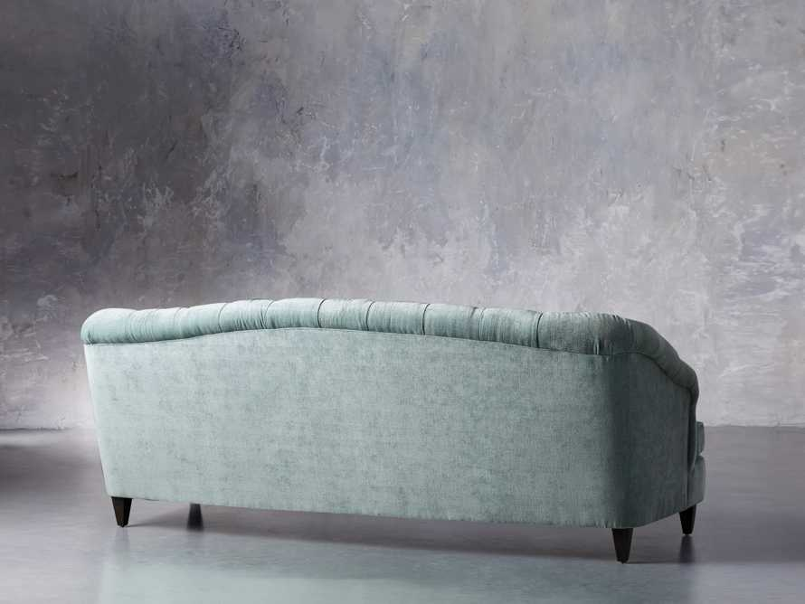 "Maeve Upholstered 99"" Tufted Sofa in America Sky, slide 4 of 9"