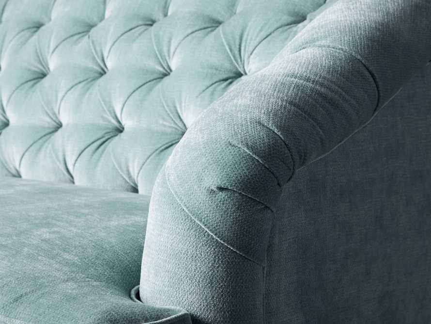 "Maeve Upholstered 99"" Tufted Sofa in America Sky, slide 6 of 9"
