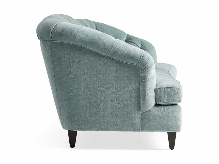 "Maeve Upholstered 99"" Tufted Sofa in America Sky, slide 8 of 9"