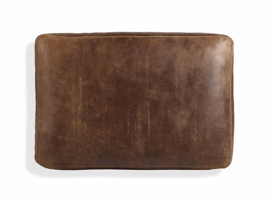"Kenley 26"" Leather Ottoman"