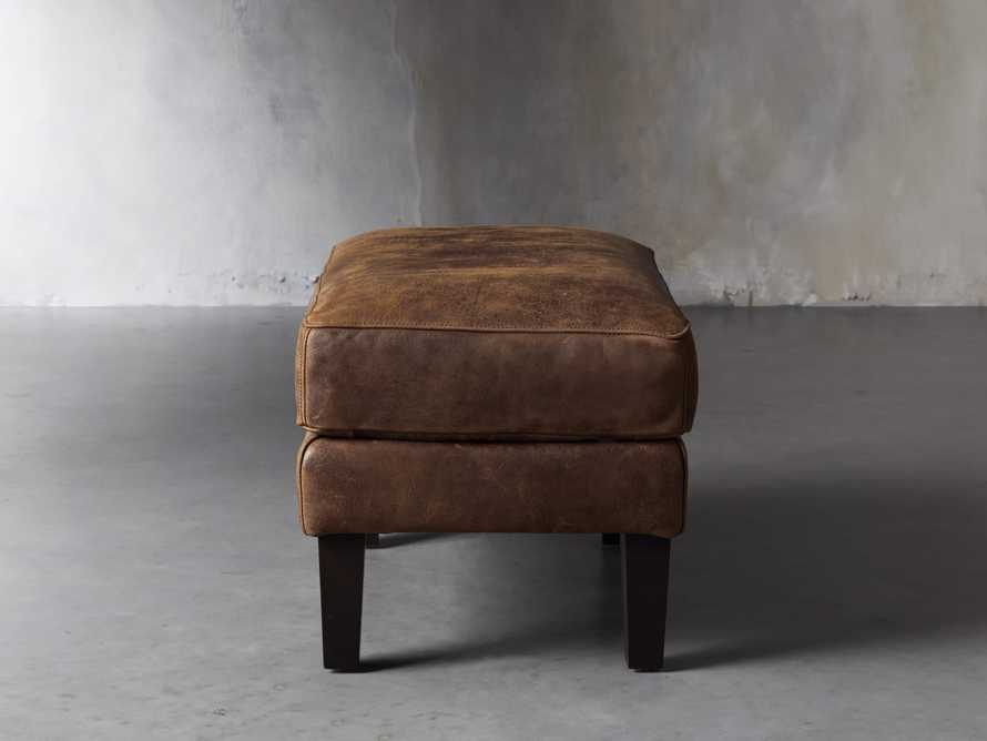 "Kenley 26"" Leather Ottoman, slide 3 of 8"