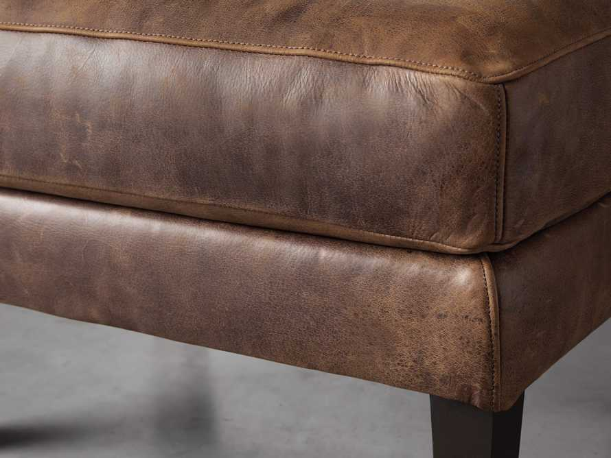 "Kenley 26"" Leather Ottoman, slide 4 of 8"