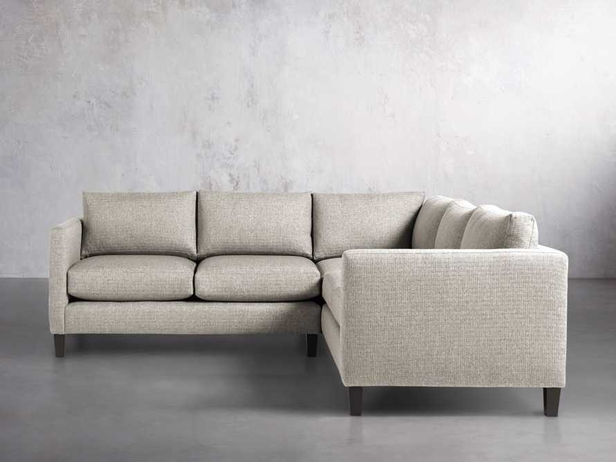 "Taylor 98"" Upholstered Two Piece Sectional in Howell Mist, slide 2 of 5"