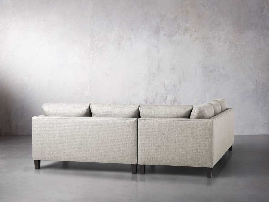 "Taylor 98"" Upholstered Two Piece Sectional in Howell Mist, slide 4 of 5"