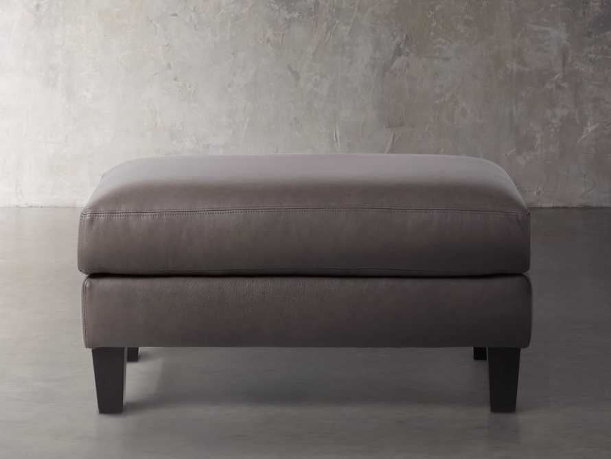 """Taylor Leather 22"""" Ottoman, slide 2 of 4"""