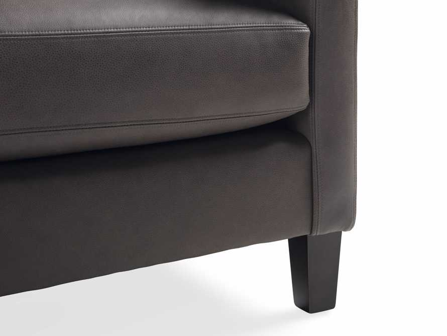"Taylor 90"" Leather Sofa, slide 6 of 6"
