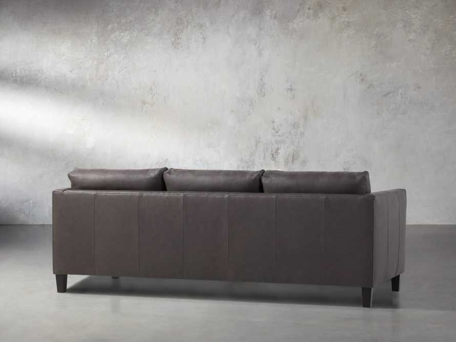 "Taylor 90"" Leather Sofa, slide 5 of 6"