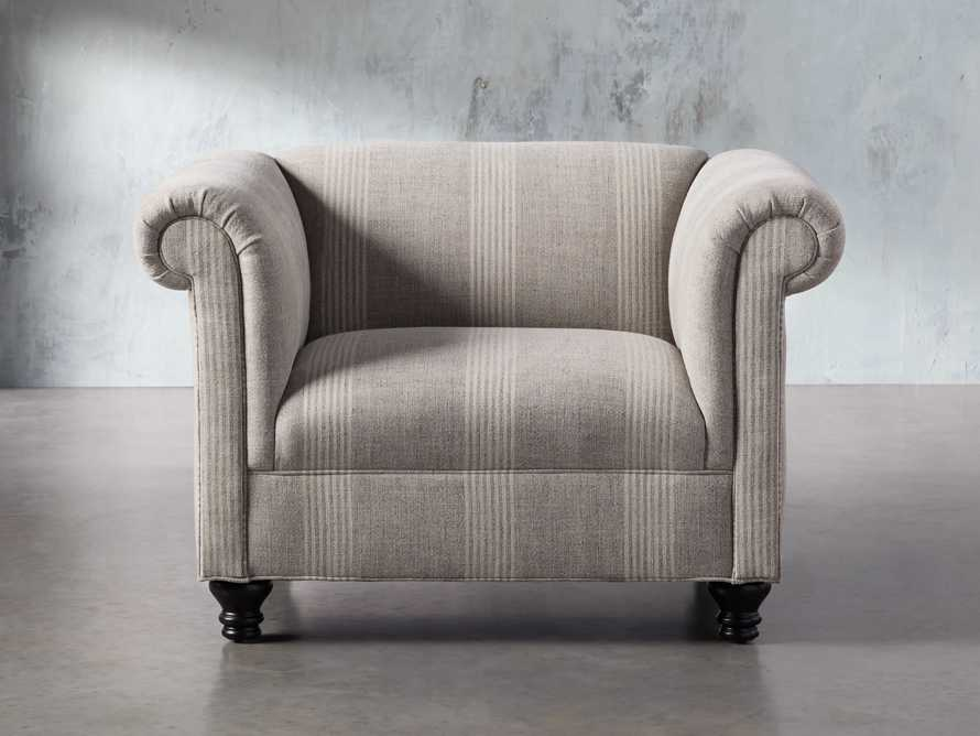 "Avery Upholstered 47"" Chair, slide 2 of 8"