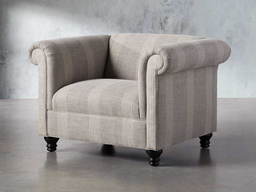 "Avery Upholstered 47"" Chair, slide 3 of 8"
