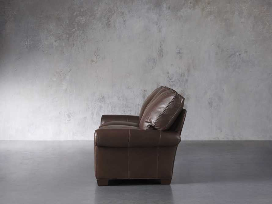 "Brentwood Leather 92"" Sofa (Right & Left Motion), slide 5 of 9"
