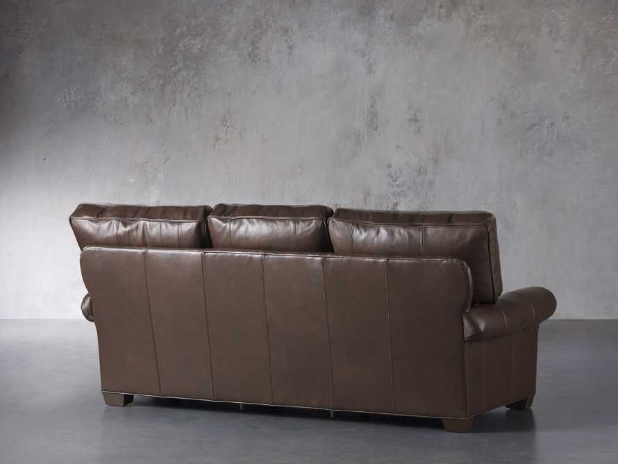 "Brentwood Leather 92"" Sofa (Right & Left Motion), slide 6 of 9"