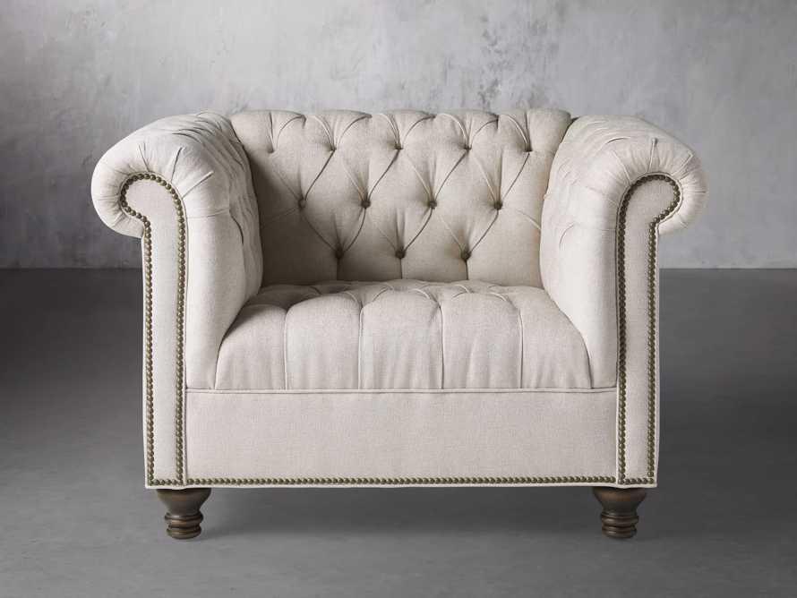 """Berwick Upholstered 47"""" Chair, slide 2 of 7"""