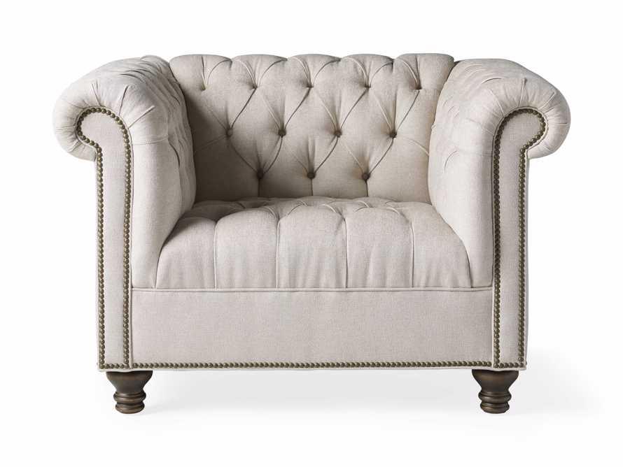 """Berwick Upholstered 47"""" Chair, slide 6 of 7"""