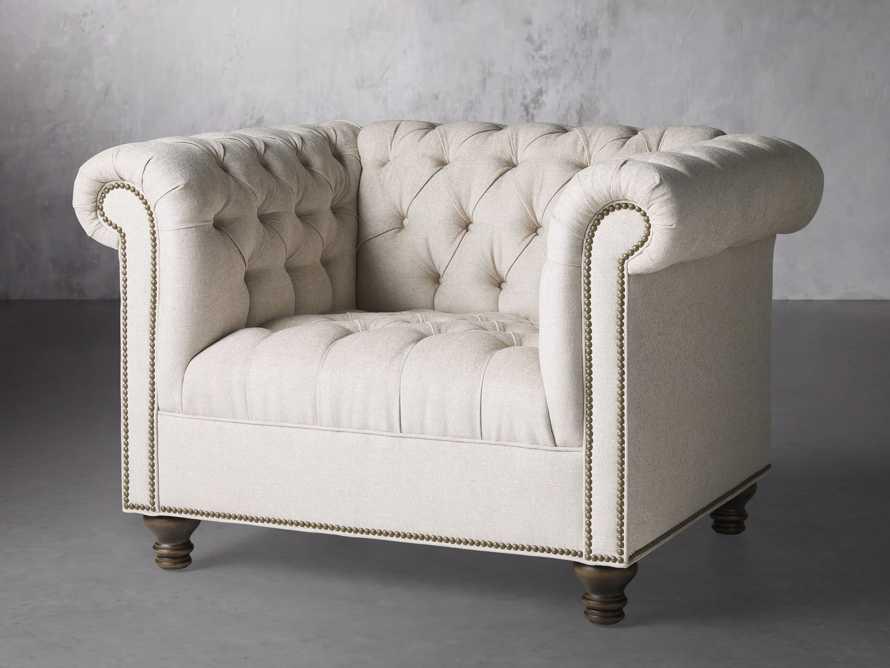 """Berwick Upholstered 47"""" Chair, slide 3 of 7"""