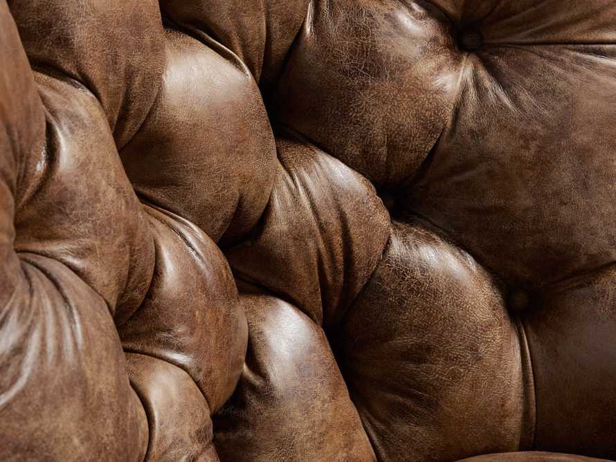 """Beacon Leather Tufted 41"""" Chair, slide 6 of 7"""