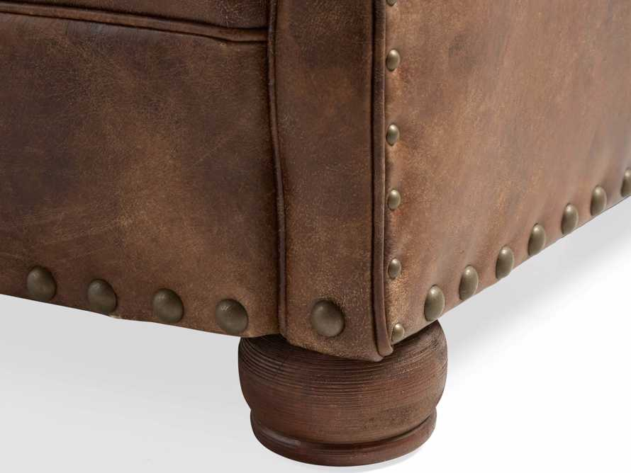 """Beacon Leather Tufted 41"""" Chair, slide 7 of 7"""