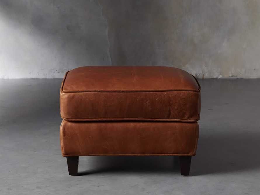 "Cotswold Leather 24"" Ottoman, slide 2 of 9"