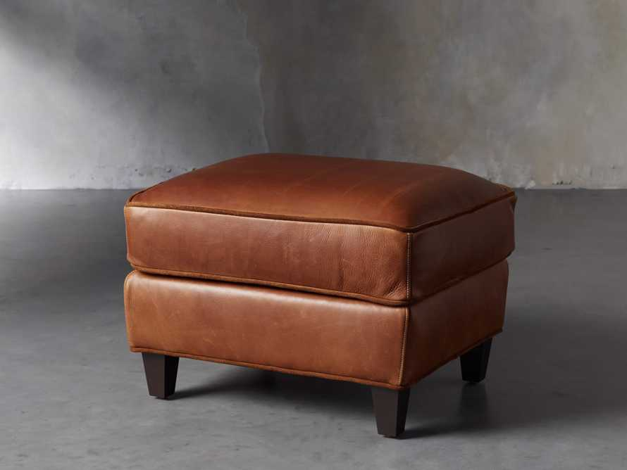"Cotswold Leather 24"" Ottoman, slide 3 of 9"