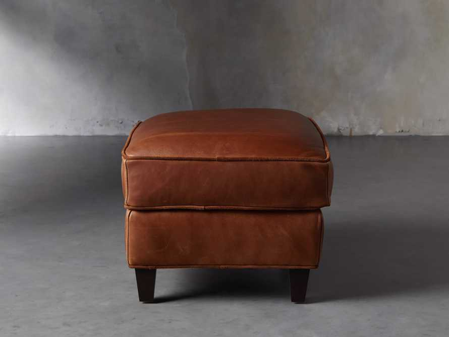 "Cotswold Leather 24"" Ottoman"