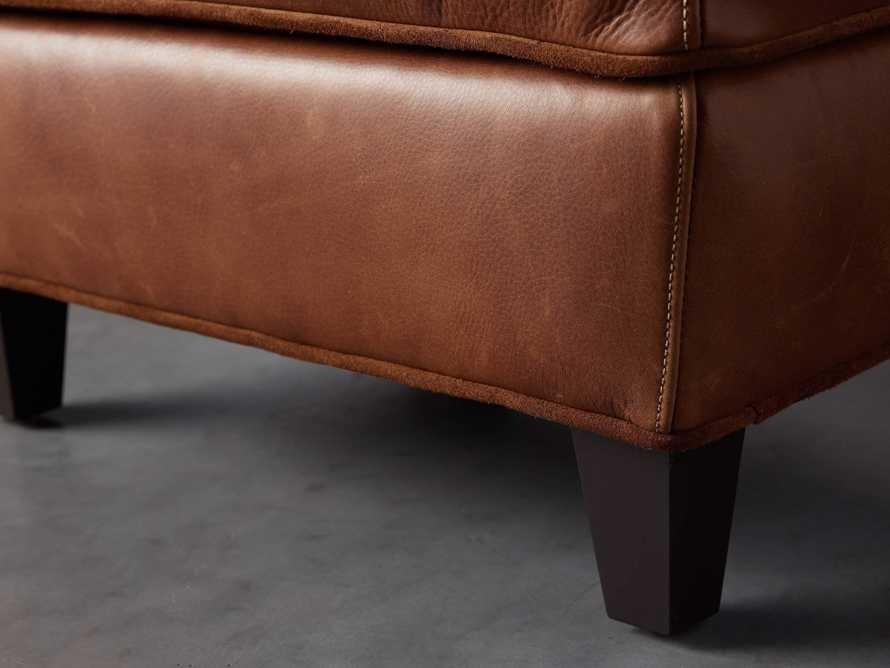 "Cotswold Leather 24"" Ottoman, slide 5 of 9"