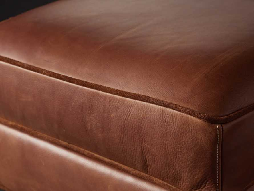 "Cotswold Leather 24"" Ottoman, slide 6 of 9"