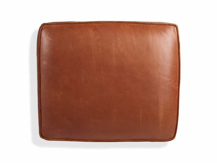 "Cotswold Leather 24"" Ottoman, slide 7 of 9"