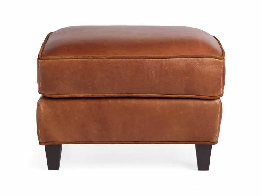 "Cotswold Leather 24"" Ottoman, slide 8 of 9"