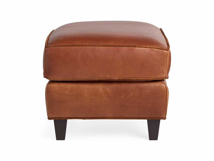 "Cotswold Leather 24"" Ottoman, slide 9 of 9"