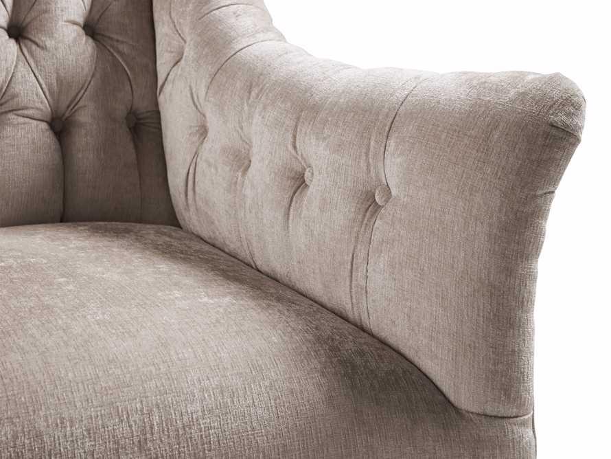 "Fiona 97"" Upholstered Tufted Sofa, slide 3 of 4"