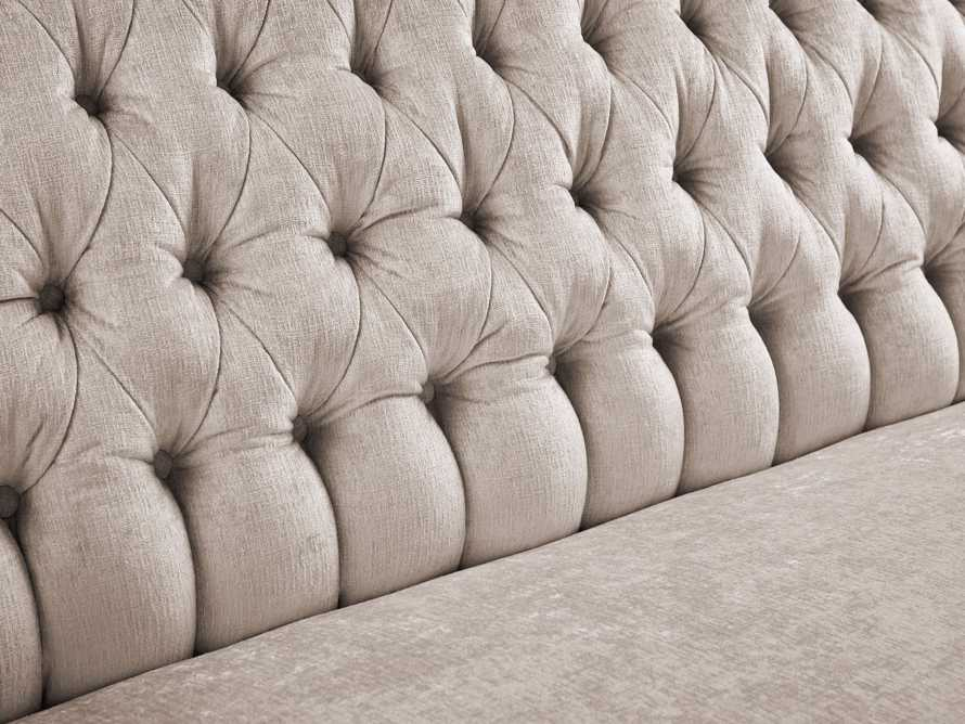"Fiona 97"" Upholstered Tufted Sofa, slide 4 of 4"