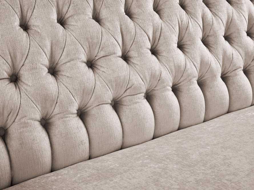"Fiona 97"" Upholstered Tufted Sofa, slide 4 of 4"