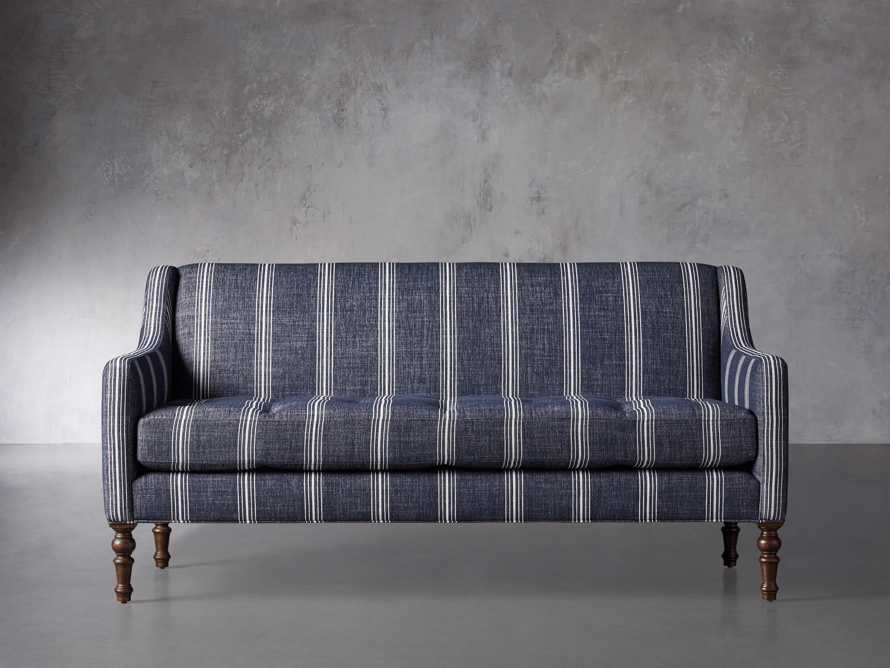 "Fenwick Upholstered 74"" Settee, slide 2 of 8"