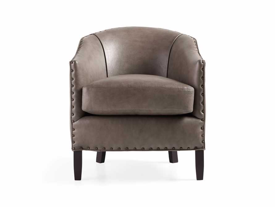 "Giles 28"" Leather Chair"