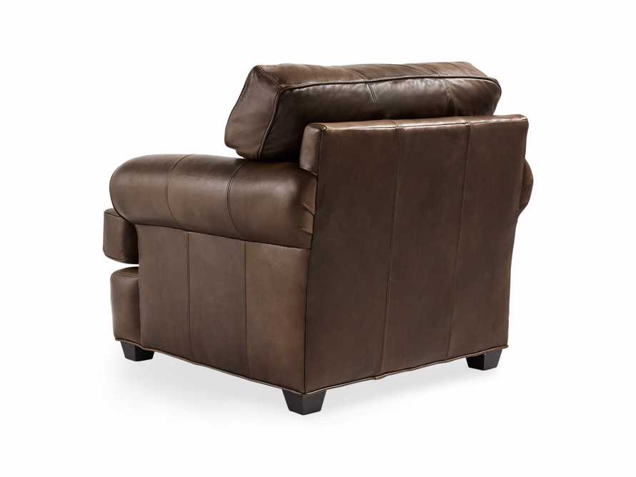 "Hadley 42"" Leather Chair in Anilina Hazelnut, slide 5 of 6"