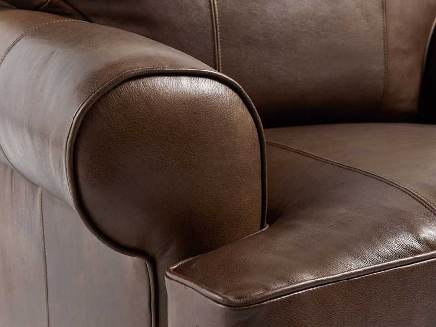 "Hadley 42"" Leather Chair in Anilina Hazelnut, slide 6 of 6"