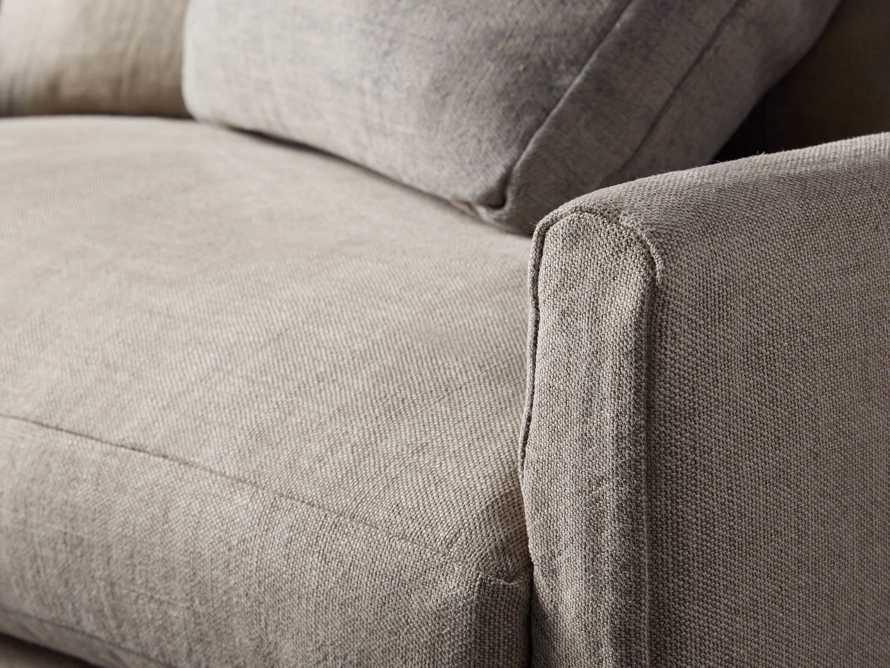 "Kipton Petite Slipcovered 51"" Scatterback Chair"