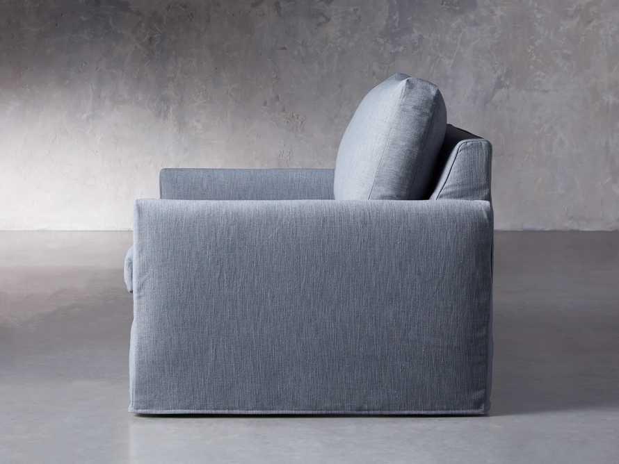 """Kipton Petite Slipcovered 51"""" Chair, slide 4 of 8"""
