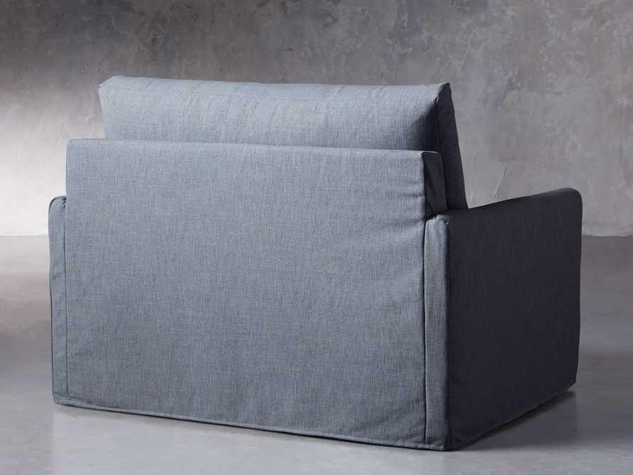 """Kipton Petite Slipcovered 51"""" Chair, slide 5 of 8"""