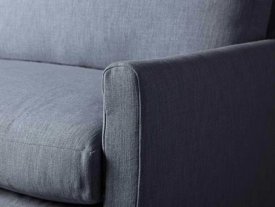 """Kipton Petite Slipcovered 51"""" Chair, slide 6 of 8"""