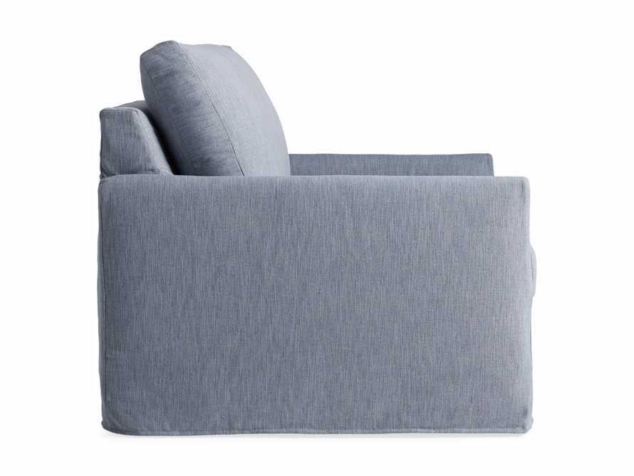 """Kipton Petite Slipcovered 51"""" Chair, slide 8 of 8"""