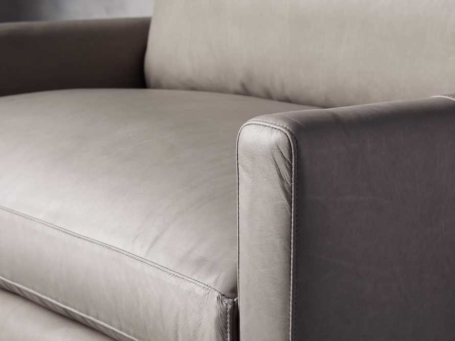 "Kipton Leather 51"" Chair, slide 5 of 7"